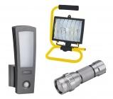 Světla a baterie