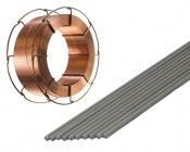 Elektrody a svařovací dráty