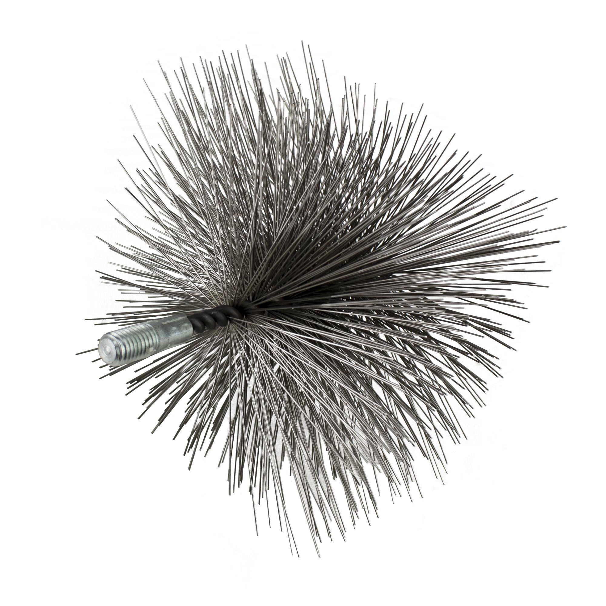 Komínový kartáč hranatý, ocelový drát, rozměr 150 x 150mm