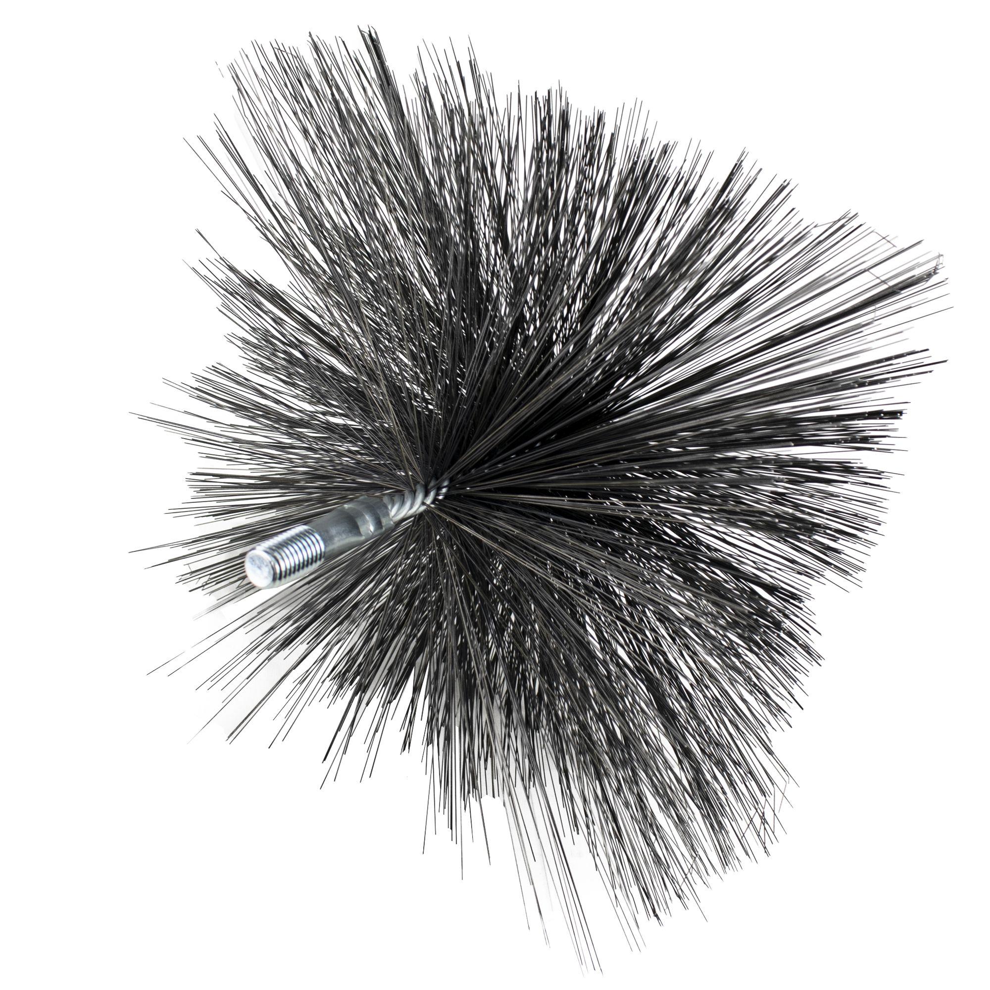 Komínový kartáč hranatý, ocelový drát, rozměr 250 x 250mm