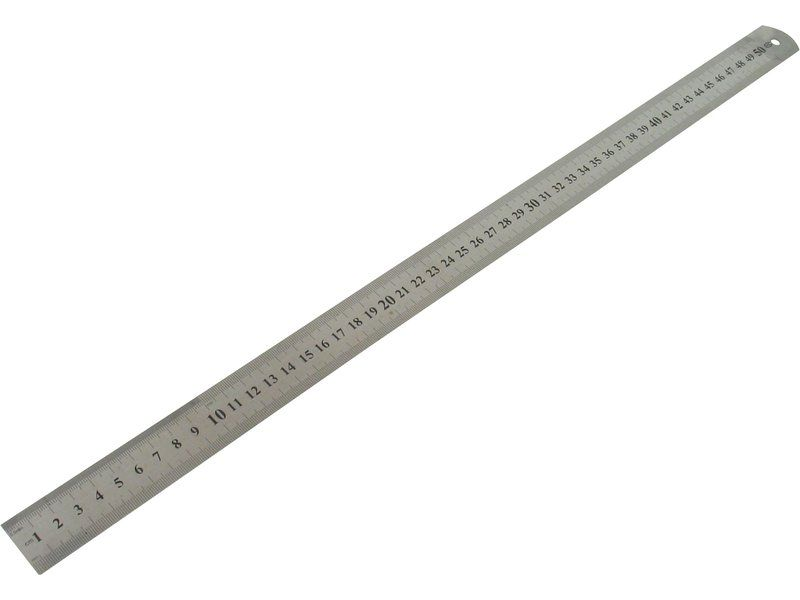Pravítko ocelové, délka stupnice 600mm