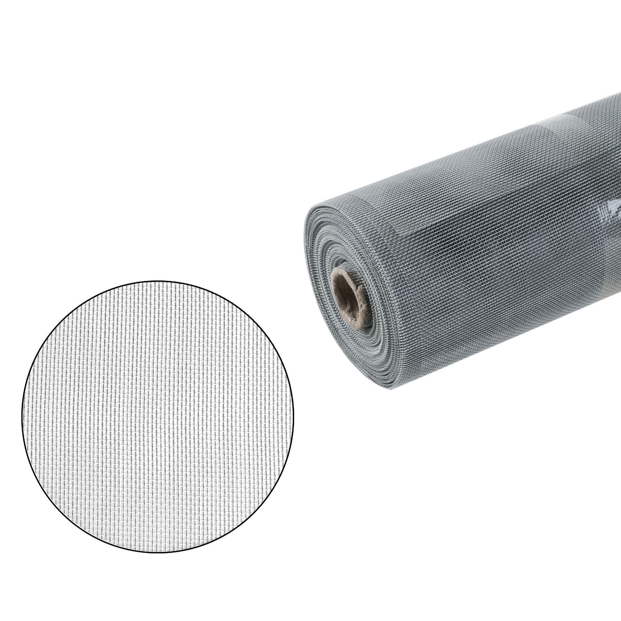 Síť proti hmyzu v roli, sklovlákno, rozměr 100cm x 30m, šedá