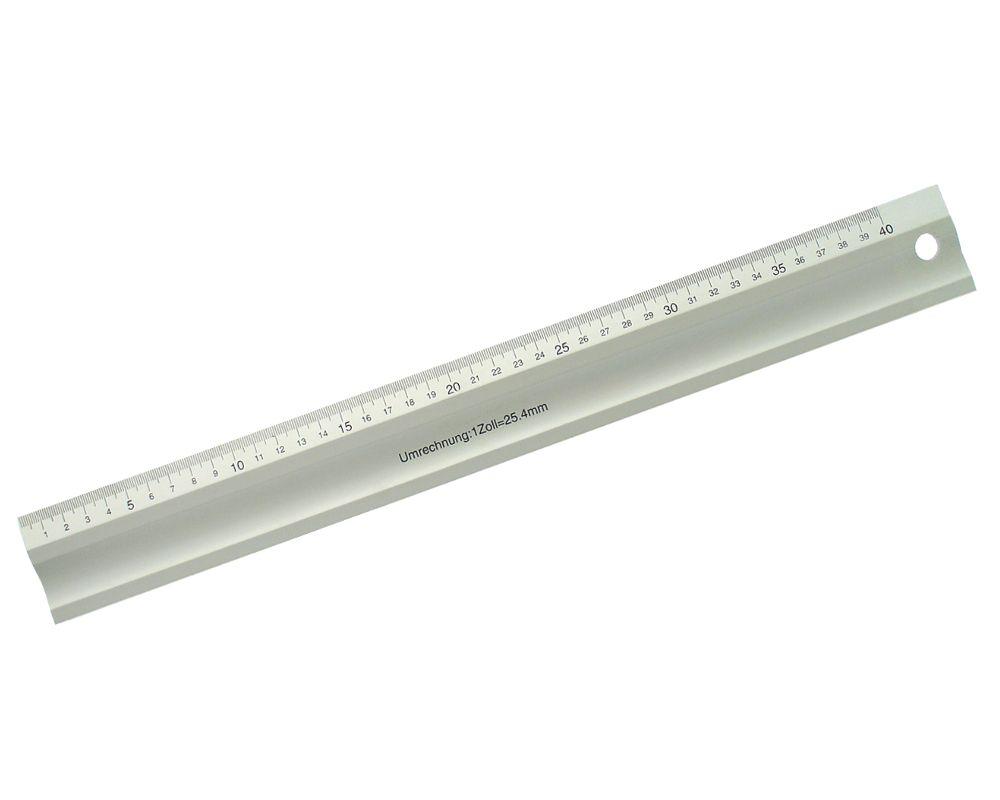 Pravítko hliníkové, délka stupnice 600mm