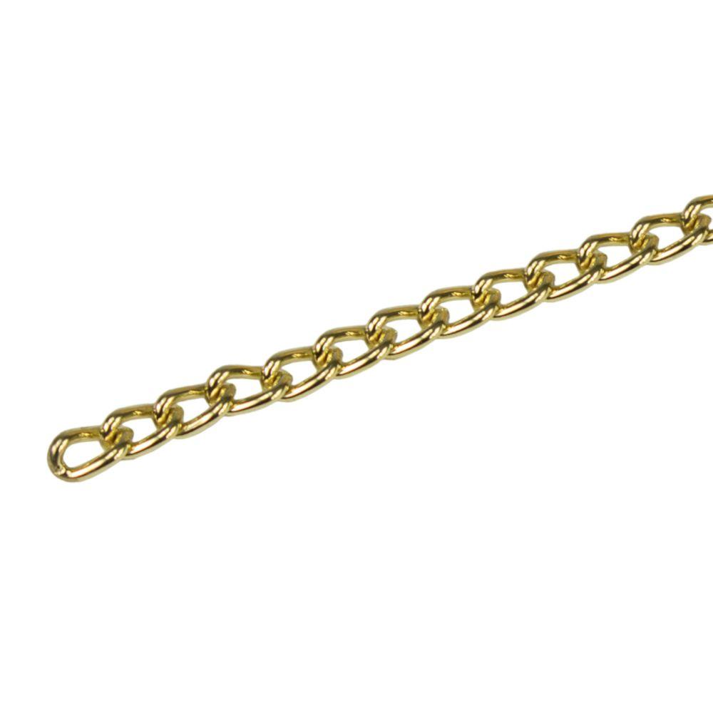 Řetěz kroucený, pr. 1,8mm, cívka 25m, pomosazený