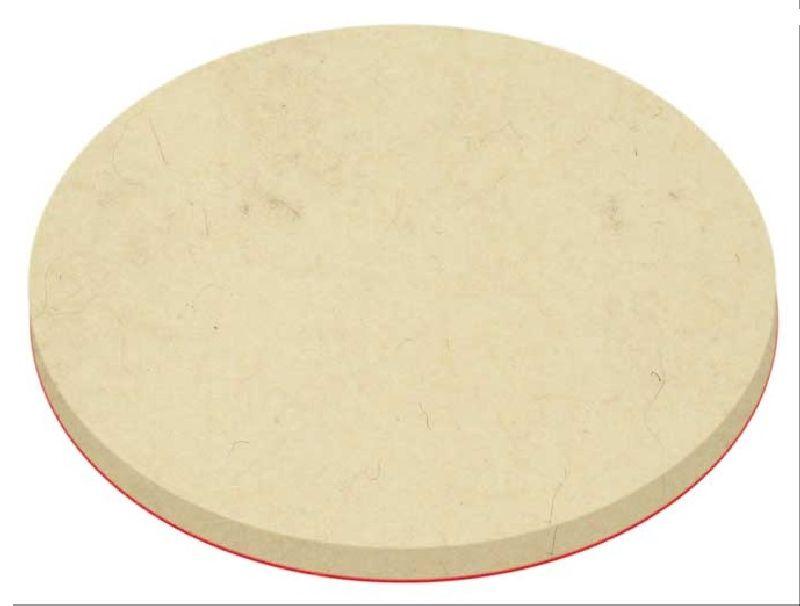 Kotouč leštící filcový se suchým zipem, 125 x 6mm