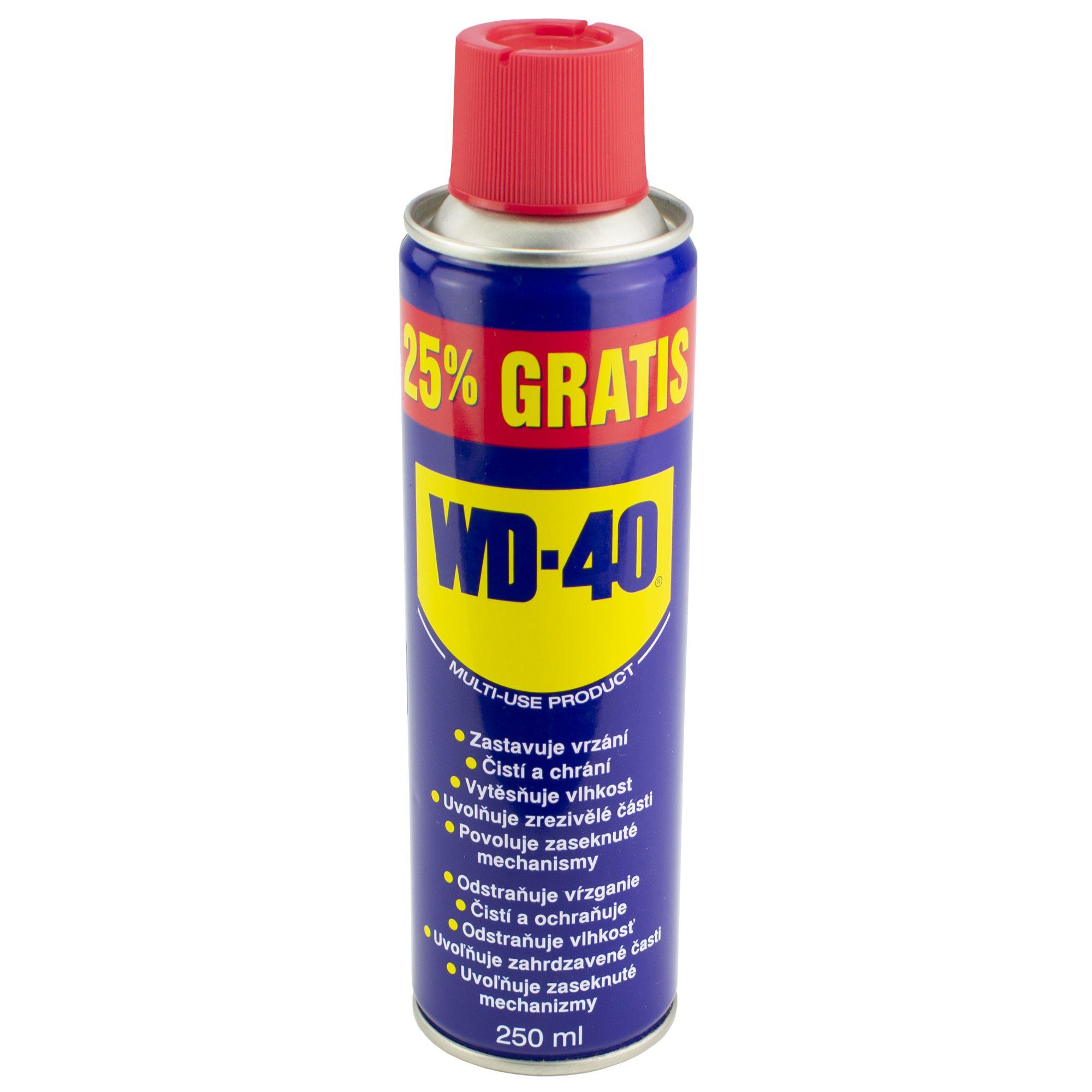 WD-40 univerzální mazací olej, objem 250ml