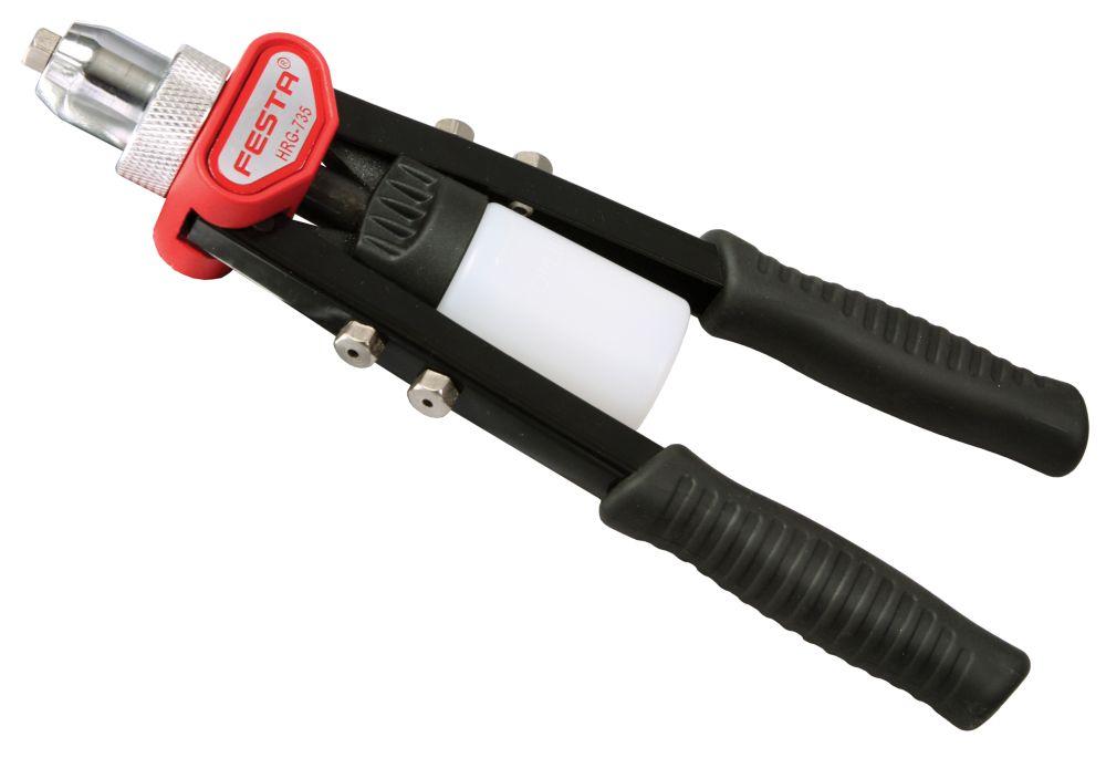 Nýtovací kleště pákové, 280mm, nýt 2,4 - 4,8mm, FESTA