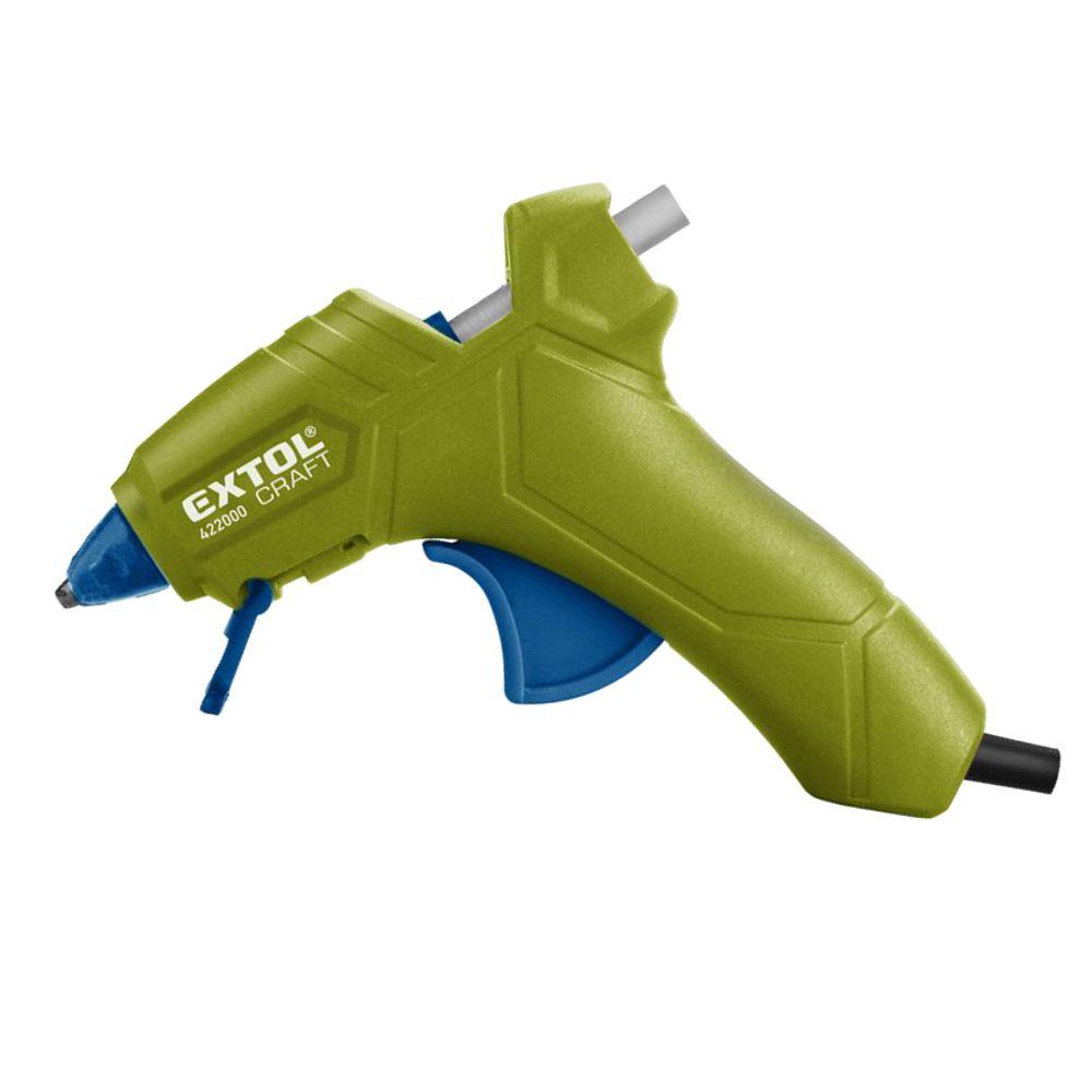 Tavná lepící pistole, pr. 7mm, 25W, EXTOL CRAFT