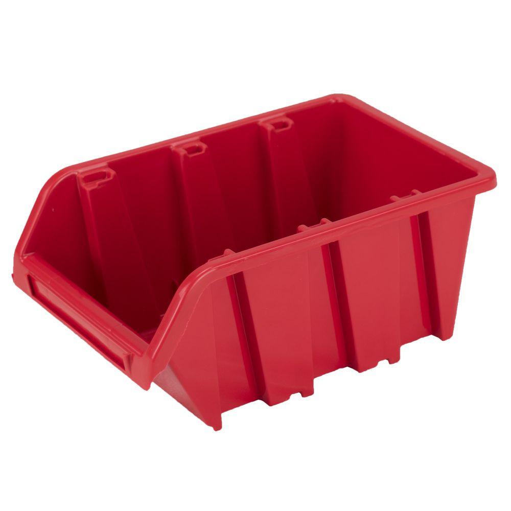 Box úložný TRUCK, NP 8, plast, červený, Prosperplast