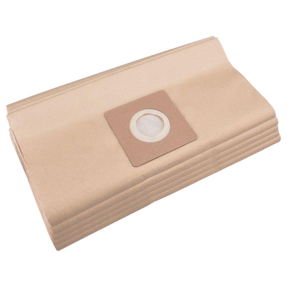 Sáček do vysavače, papírový, objem 30L, balení 5ks, EXTOL PREMIUM