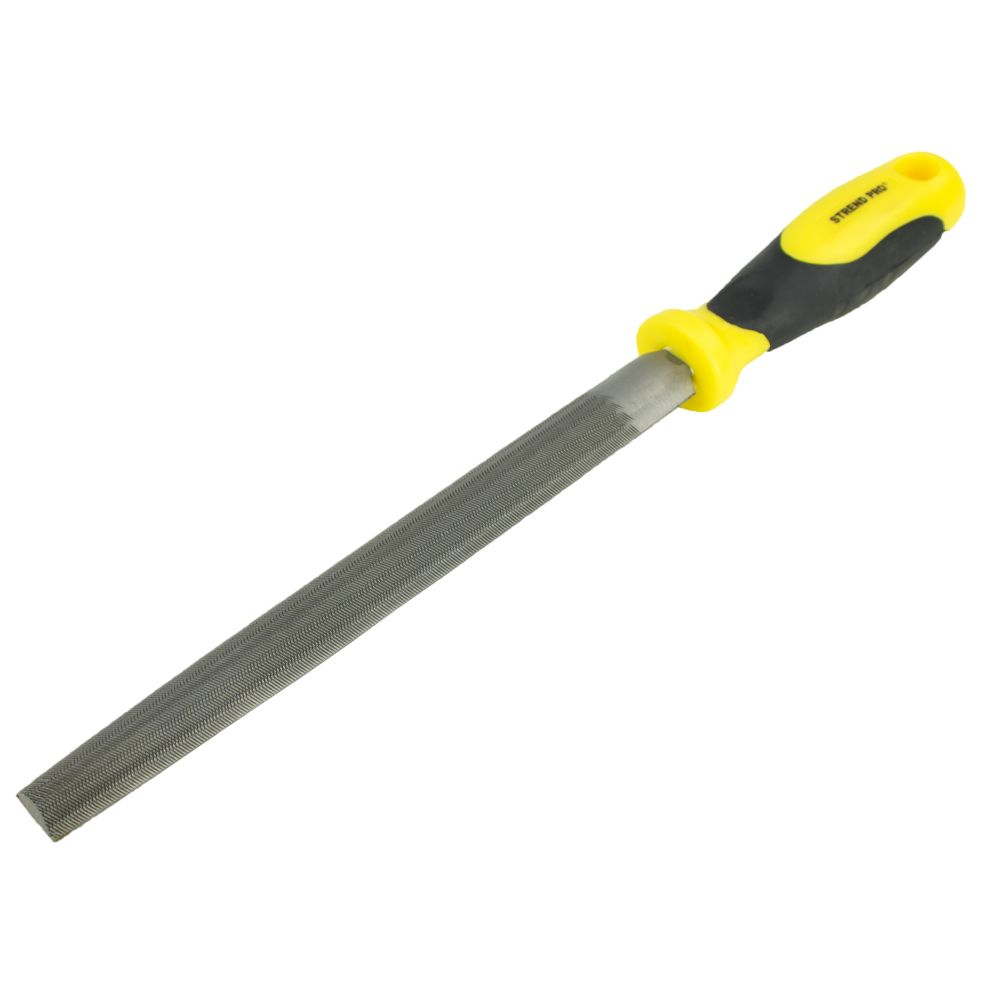 Pilník na kov, 200mm, půlkulatý, STREND PRO