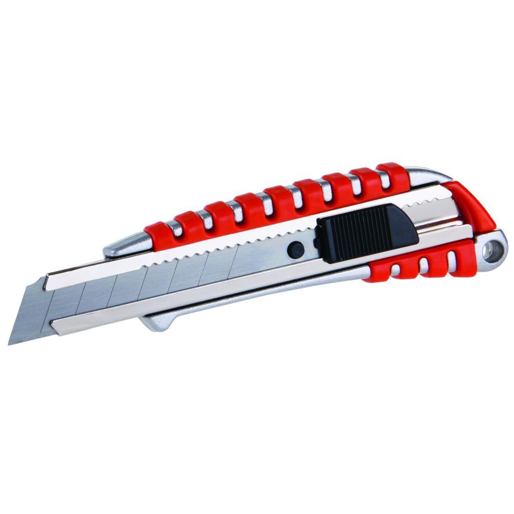 Nůž ulamovací, 18mm, hliník+guma, kovová výztuha, brzda, L 25, FESTA