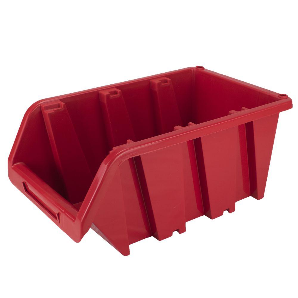 Box úložný TRUCK, NP16, plast, červený, Prosperplast