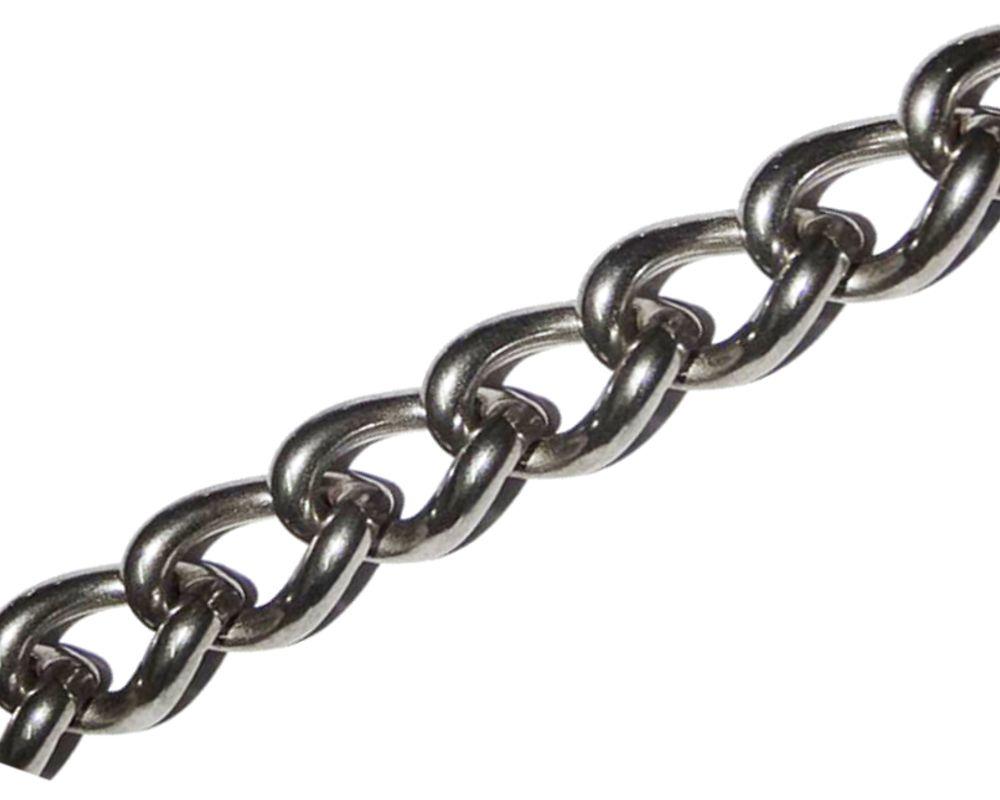 Řetěz kroucený DIN 5685A, pr. 4mm, balení 50m, ZN