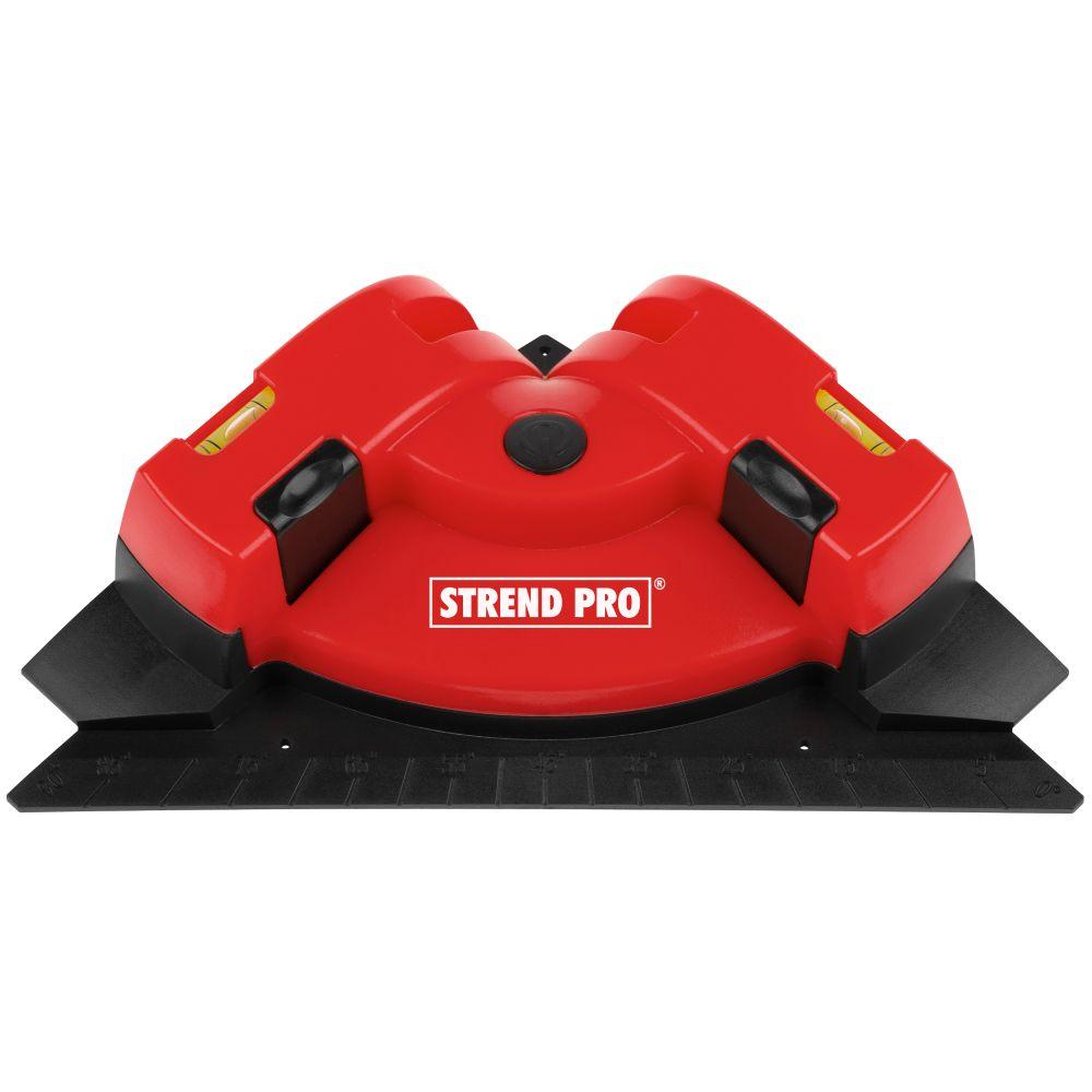 Laser křížový, na podlahu a obklady, červený, TL90, STREND PRO