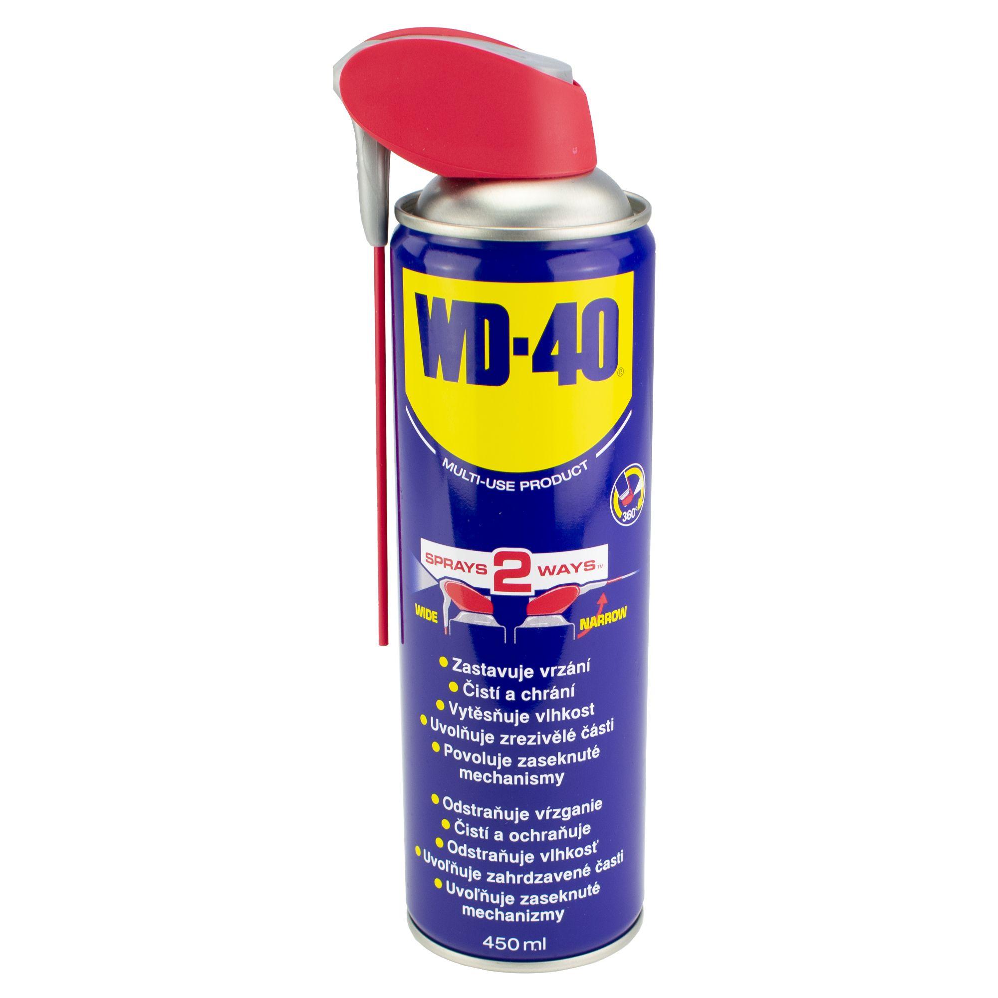 WD-40 univerzální mazací olej, objem 450ml, Smart Straw