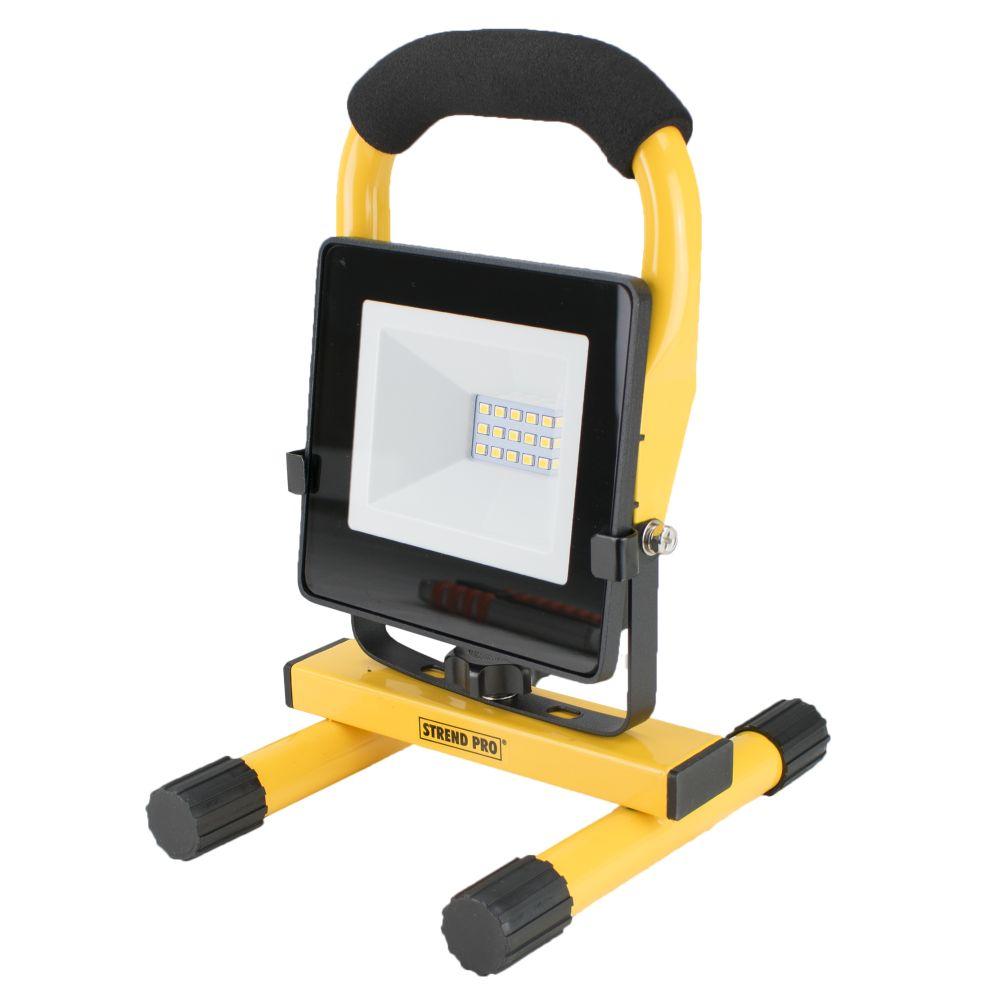 LED reflektor přenosný, SMD, 10W, 800lm, 230V, STREND PRO