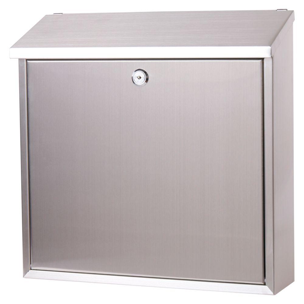 Poštovní schránka, nerez, 36 x 36cm, FLATBOX 2, Magic Home