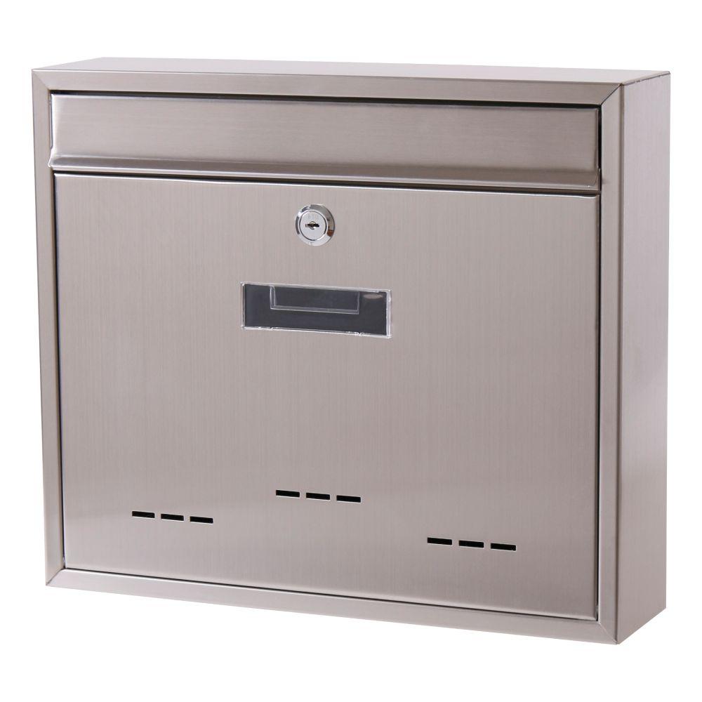 Poštovní schránka, nerez, 31 x 36cm, RADIM V., SATOS