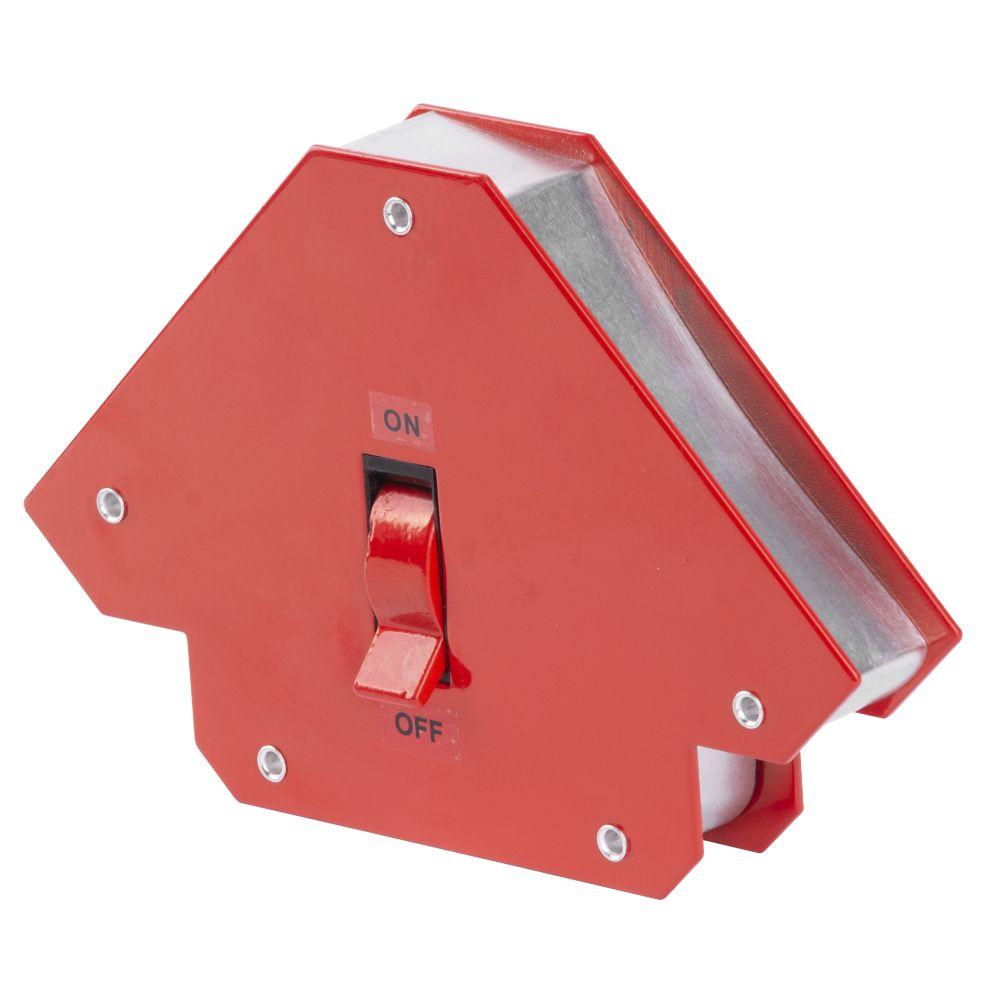 Magnet úhlový ON/OFF, 11,5 x 11,5cm, 12kg, QJ6007, STREND PRO