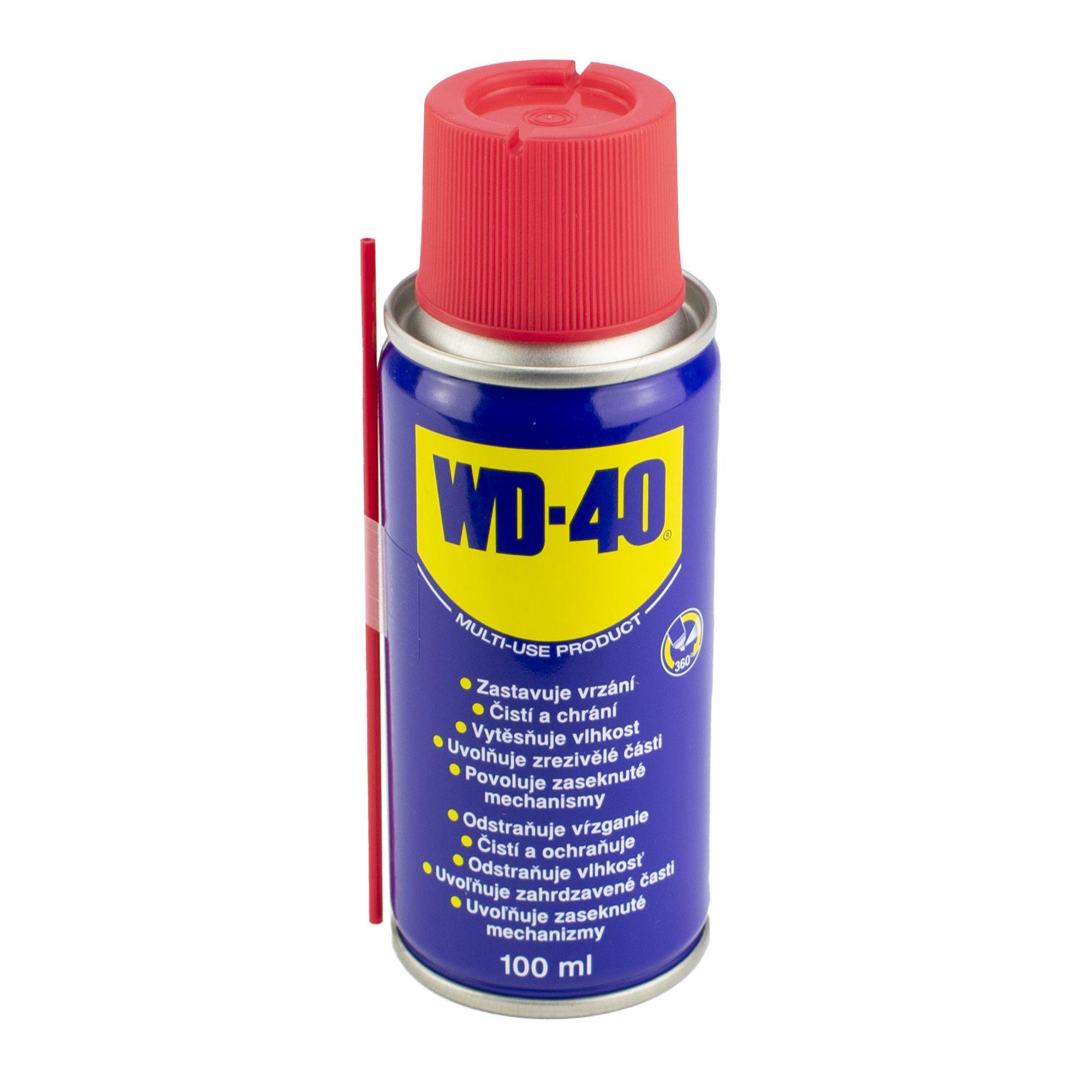 WD-40 univerzální mazací olej, objem 100ml
