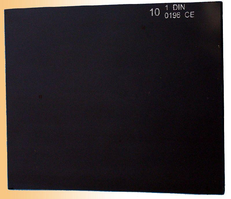 Sklo do svařovací kukly, 110 x 90mm, tmavé č. 11