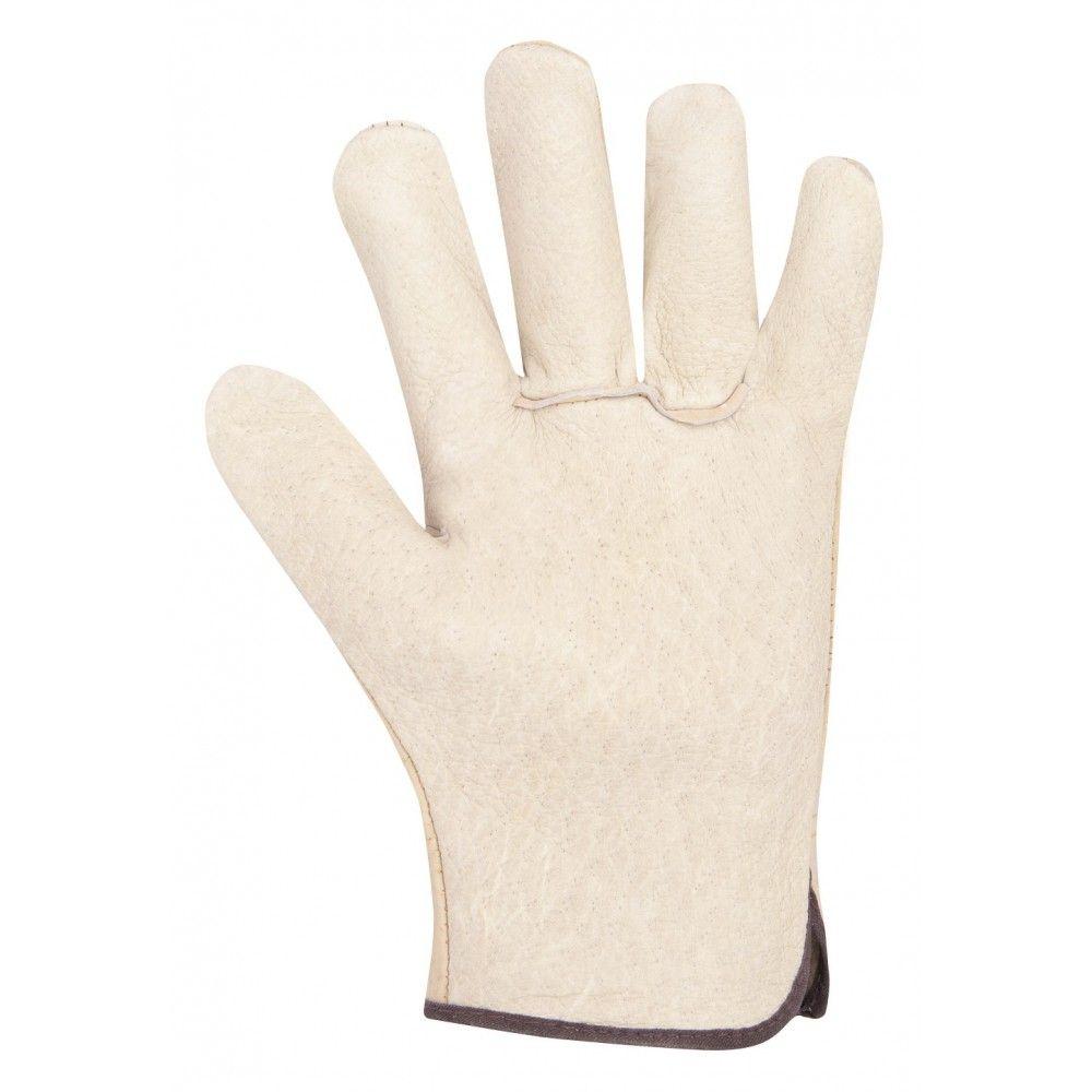 """Pracovní rukavice kožené HILTON, velikost 10"""", ARDON"""