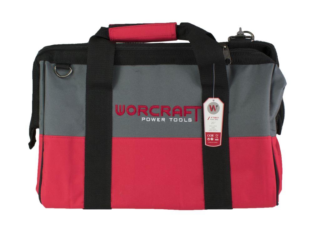 Taška na nářadí, nylon, 43x34x25cm, S20Li, WORCRAFT