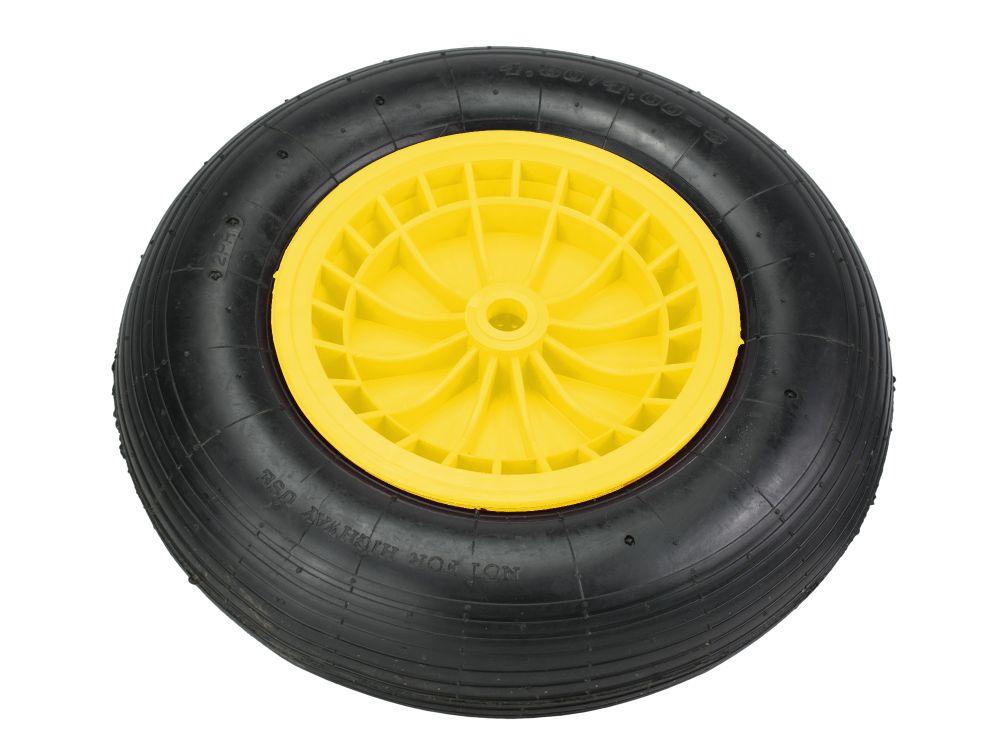 Kolečko náhradní LIVEX, nafukovací, žlutý disk