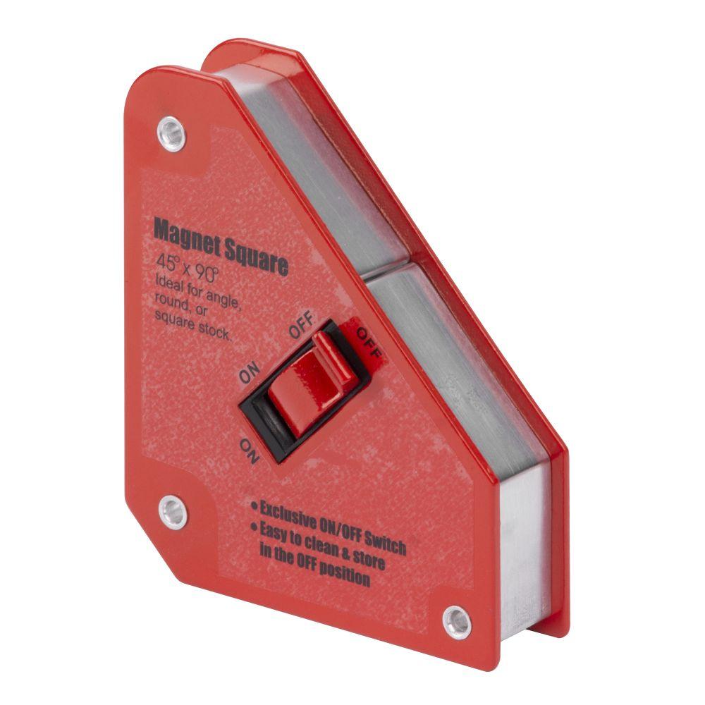 Magnet úhlový ON/OFF, 15 x 13cm, 25kg, QJ6006, STREND PRO