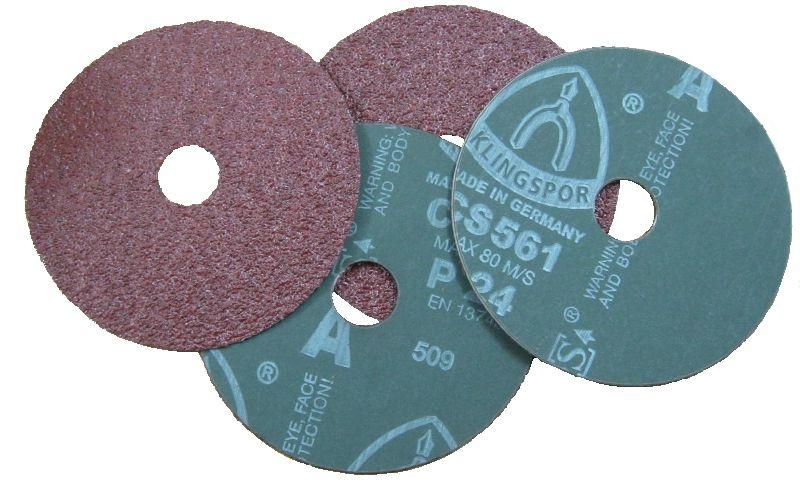 Disk vulkanfíbrový 150mm /P36, CS561, KLINGSPOR