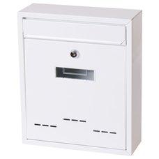 Poštovní schránka, ocel, bílá, 31 x 26cm, RADIM M., SATOS