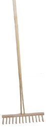 Hrábě na seno kompletní dřevěné kolíky