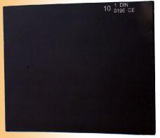 Sklo do svařovací kukly, 110 x 90mm, tmavé č. 9