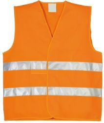 Reflexní vesta, velikost UNI, oranžová