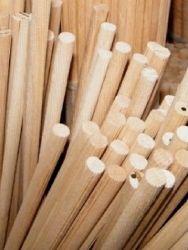 Dřevěná hmoždinka, vroubkovaná, pr. 10mm, délka 800mm