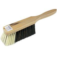Smetáček ruční dřevěný lakovaný 5206/533, délka 285mm, vlákno směs
