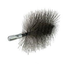 Komínový kartáč hranatý, ocelový drát, rozměr  90 x 45mm