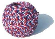 Provázek lněný tricolora 40g