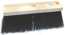Koště silniční dřevěné, zatloukací, rozměr 34x8cm, vlákno PVC, bez násady