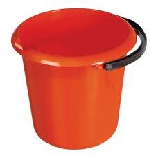 Vědro plastové, 10L, s výlevkou, barevné, SPOKAR
