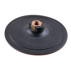 Kotouč gumový do brusky, průměr 150mm, závit M14, suchý zip, EXTOL CRAFT