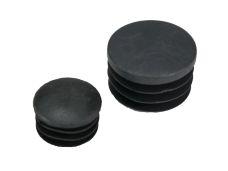 Zátka trubky kruhová, pr. 25mm, černá, balení 10ks
