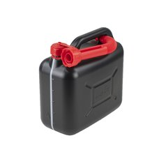 Kanystr na benzín plastový 5L, černý