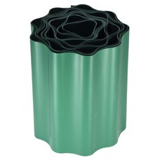 Trávniková obruba - plastový lem, 15cm x 9m, zelený
