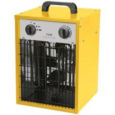 Topidlo elektrické,  3kW, 230V, 514m3/hod, IFH01-33H-13, STREND PRO