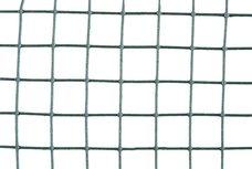 Pletivo čtvercové ZN+PVC, oko 16mm, 1,2mm, 100cm, návin 25m, zelené