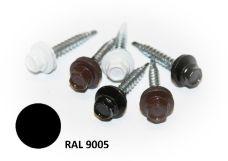 Šroub střešní samovrtný s EPDM podložkou, rozměr 4,8 x 35mm, barva RAL 9005, balení 200ks
