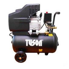 Kompresor olejový, 1500W, 1 píst, nádoba 24l, TUSON