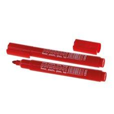 Značkovač permanentní, lihový, červený